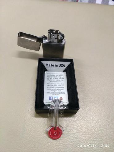 зажигалка zippo в Кыргызстан: Зажигалка zippo новая оригинал привезена с Германии,причина продажи