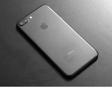 Айфон 7+, 128гб , цвет черный матовый, в Бишкек