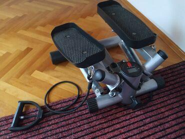 Elektricni sporeti - Srbija: Prodajem polovnu elektricnu traku za trcanje,skije i steper. Sve je