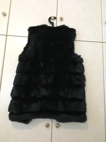 Αμανικη γούνα χρώμα μαύρο one size.δενεχει φορεθει ποτε. σε Πειραιάς - εικόνες 3