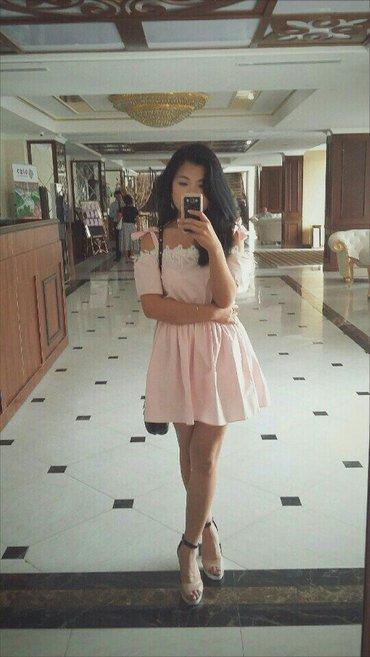 Милое платье! Размер 44-46. Одевала один раз. в Бишкек