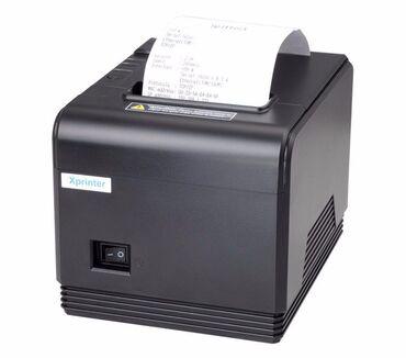 Xprinter XP-Q800 işlənmişdir heç bir problemi yoxdur say var