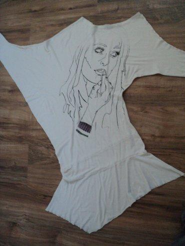 Haljina na jedno rame, pamuk elastin, u donjem delu podseća na - Kragujevac