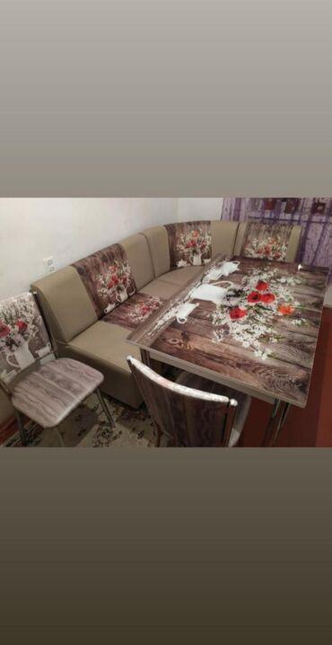 Metbext desti divan 1 stol 2 stul satilir 270azn yeni kimidi