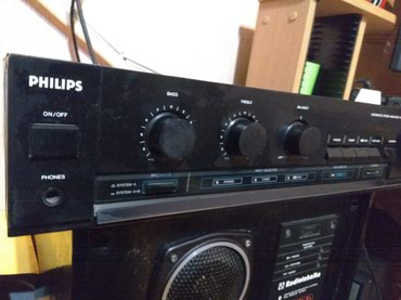 Колонки S90 + японский усилитель Philips в Бишкек