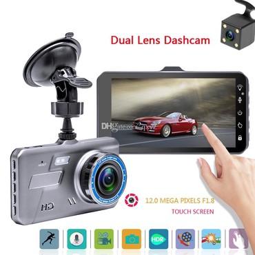 Videoqeydiyyatçılar Azərbaycanda: Sensorlu Yüksek çekilişi olan iki kamerali videoqeydiyyatçiAvtomobil