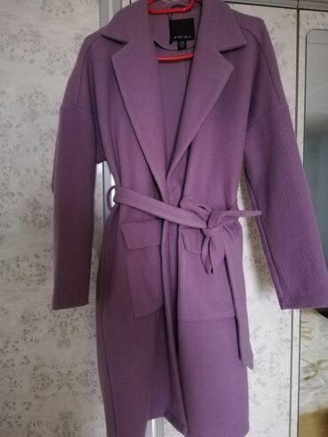 Amisu kaput lila/lavanda prelepe boje. Jako moderan i kvalitetan