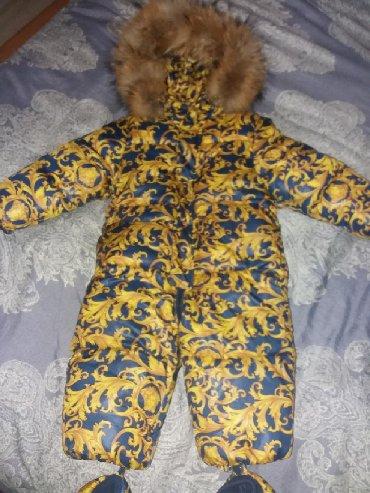 детские комбинезоны на 3 года в Кыргызстан: Детский комбинезон .на год-два-три .Пару раз одели,слишком большой