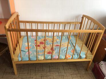 Детская кроватка, состояние хорошее, самовывоз с Сокулук
