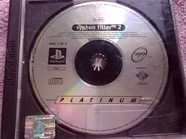 PlayStation 1 syphon filter 2 - Kucevo