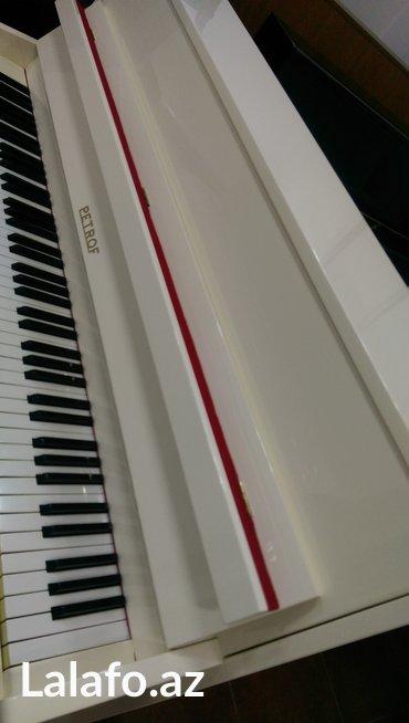 Bakı şəhərində Çexiya  istehsalı 3 pedallı professional pianino satılır. 5il zemanet- şəkil 3