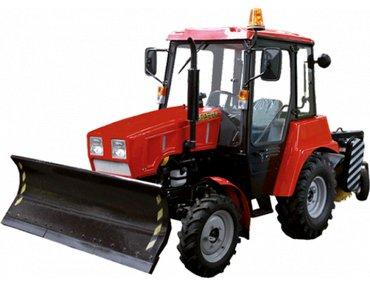 Ağdaş şəhərində Машина уборочная.Машина состоит из базового трактора БЕЛАРУС 320.4