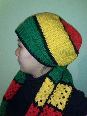 Шапка-вязаная-детская - Кыргызстан: Раста Шапки.Это красный, желтый и зеленый цвета. И Пусть Весь Мир