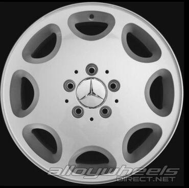 диски ромашка мерседес в Кыргызстан: Mercedes-Benz R-16 W210 W124 ромашки! Диски в отличном состоянии