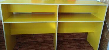 сколько стоит школьная парта в Кыргызстан: Продаю стол новый высота 105 см, ширина 45 см, длина 180 см