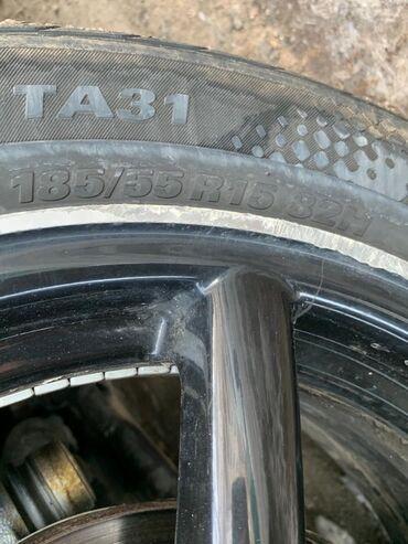 купить диски r15 4x100 в Кыргызстан: Куплю 4 шины 185/55/15 (зима) б/у или масло. (вотсап и звонки)