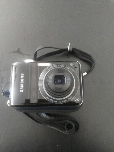 Bakı şəhərində Samsung fotoaparat ela veziyetdedi rasiyadan alinib qabi ile birlikde