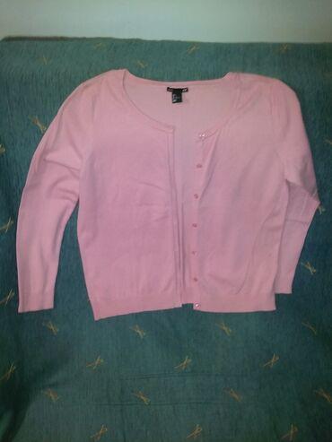 Dve H&M bluze na kopcanje roze vel.l siva vel.s cena po kom