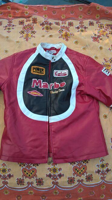 Kozna jakna za motocikliste XXL kao nova je--doslo od preko sa ostalom