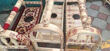 Жаңы бешиктер арзан дүң жана чекене баада верба (тал) жасалган шашылы
