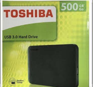 Toshiba hard disk arginal 500 GB