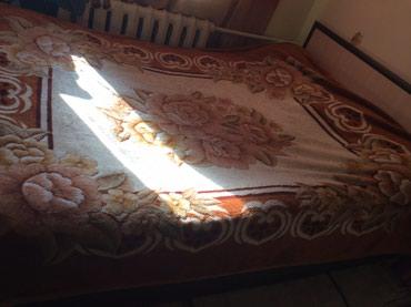 Продаю 2х спальный кровать в хорошем состоянии 5тыс. Возможен торг в Бишкек
