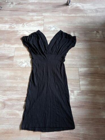 Haljine | Novi Banovci: Elegantna haljina puna elastina. Moze se nositi na ramenima i ispod