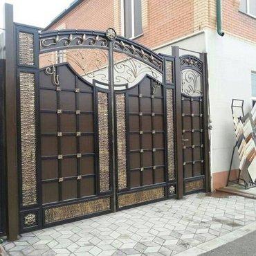 Металлоконструкции, ворота всех в Бишкек