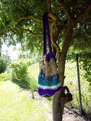 Ostalo | Vrnjacka Banja: Rucno radjena vrecasta torba unikat
