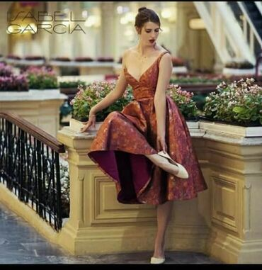 vjazanye muzhskie svitera s ornamentom в Кыргызстан: Оригинал платье Isabel Garcia  Размер S