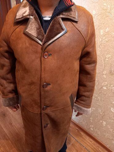 кожаная куртка мужская купить в Кыргызстан: Продаю дублёнку мужскую натуралка полностью. Производство Турция. В