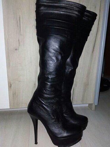 Nove kožne čizme, br. 35, prelepe użivo... - Krusevac - slika 2