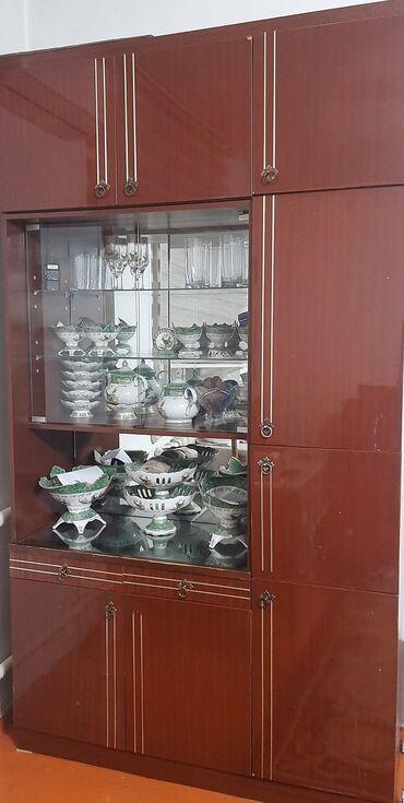 продам дом недорого in Кыргызстан   ПРОДАЖА ДОМОВ: Продаю советскую стенку недорого (3 столба), 3 фото копия точно такая