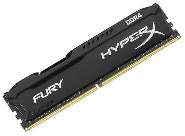 джойстики pc в Кыргызстан: Оперативная память Memory DDR4 8GB PC-21300 (2666MHz) KINGSTON HYPERX