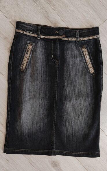 Джинсовая юбка pantamo.Размер 46-48