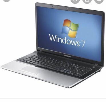 прокат ноутбуков в Кыргызстан: Сдаю в почасовую аренду ноутбук Виндоуз 7 Самсунг в хорошем качестве и