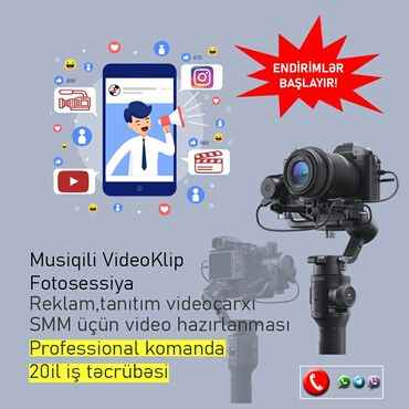Reklam,tanıtım videoları hazırlanması