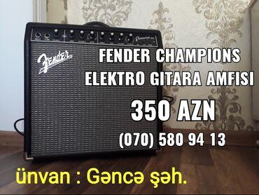 Fender Champions Elektro Gitara AmfisiCəmi 1 ay işlənib və tam əla
