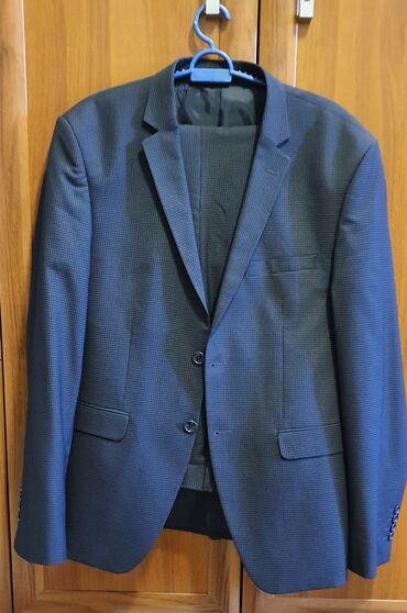 Продаю мужской костюм-двойка 50го размера, ростовка 182 см. Костюм
