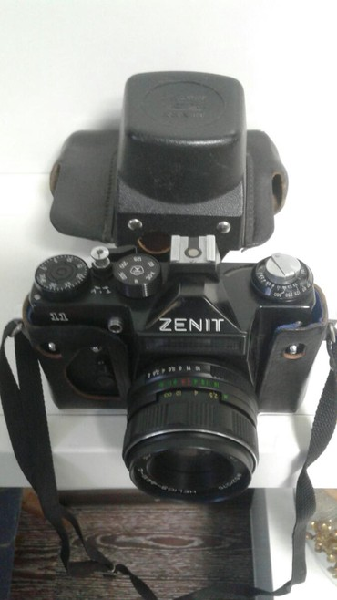 зенит е в Кыргызстан: Продаю фотоаппарат Зенит СССР М 52х75 Helios 44М 4 в идиальном состо