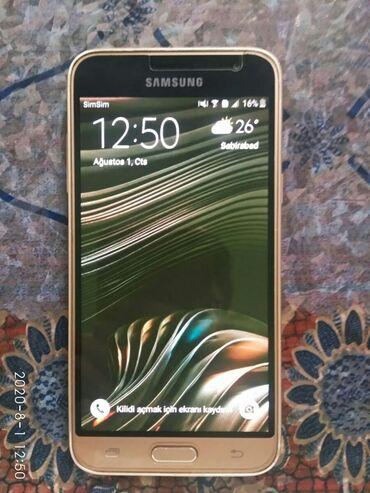 Электроника в Сабирабад: Б/у Samsung Galaxy J3 2017 8 ГБ Золотой