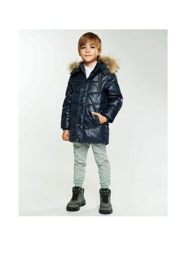Детский мир - Кыргызстан: Детская зимняя куртка фирмы Cool, с натуральным мехом, очень хорошего
