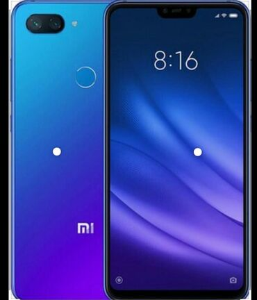 İşlənmiş Xiaomi Mi 8 Lite 64 GB göy