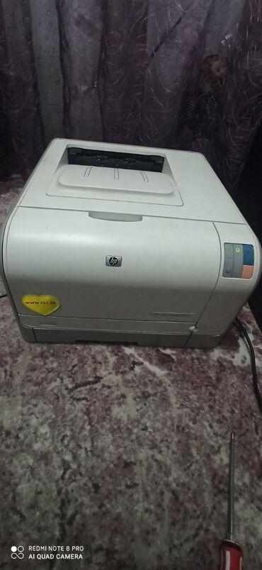 printer hp laser jet 1018 в Кыргызстан: Цветной принтер HP Color Laser Jet CP-1215.Состояние хорошее. Картридж