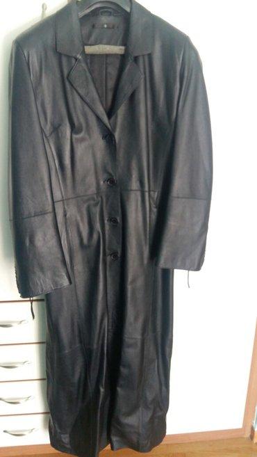 Δερματινο γυναικειο παλτο σε αριστη κατασταση φορεμενο ελαχιστα. σε Rest of Attica