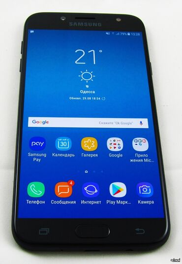 Honda ridgeline 2017 - Кыргызстан: Б/у Samsung Galaxy J7 2017 16 ГБ Синий