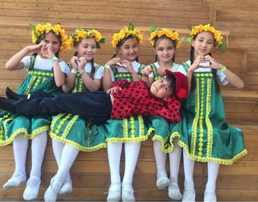 Студия народных танцев открывает в Бишкек