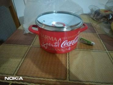 Nova coca-colina serpa (Metalac) na prodaju,sirina 22cm,zaprmina 4l. - Belgrade