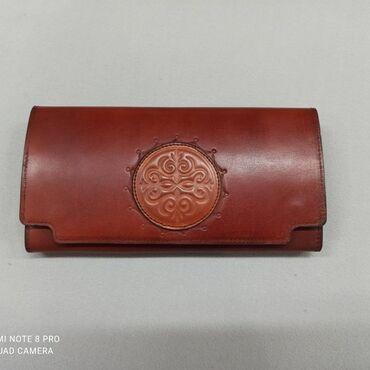 поясные сумки женские в Кыргызстан: Женский кошелек из натуральной кожи