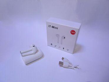Беспроводные наушники I7-mini (TVS) Полный комплект
